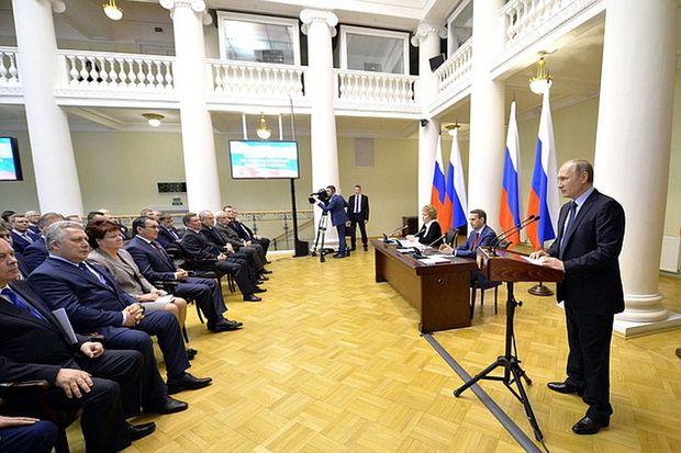 Путин и законодатели-1