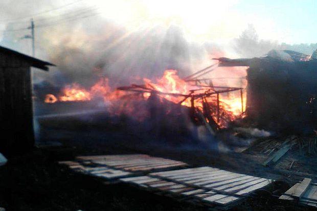 пожар_Западнодвинский район