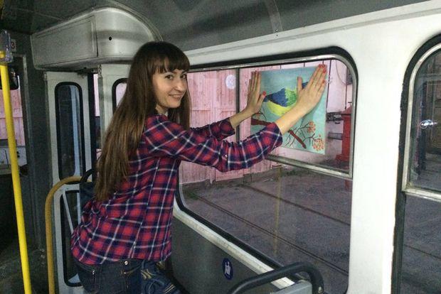 зеленый трамвай-1