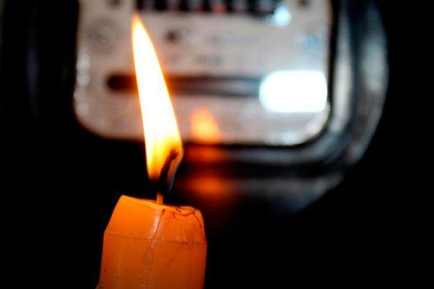 без электричества_свеча