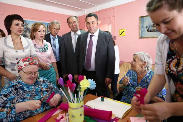 Вышневолоцкий дом интернат для престарелых и инвалидов центр для пожилых людей и инвалидов