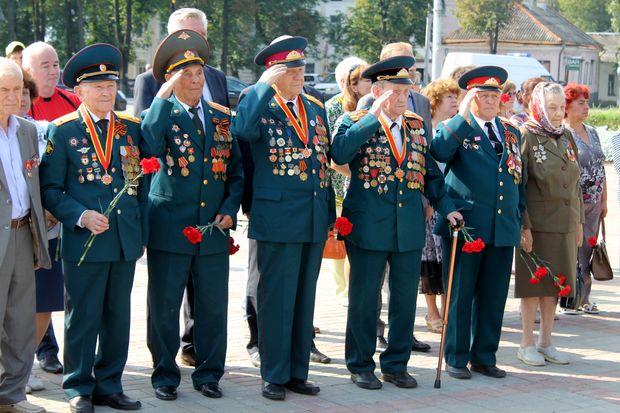 В Твери отметили 73-ю годовщину Курской битвы