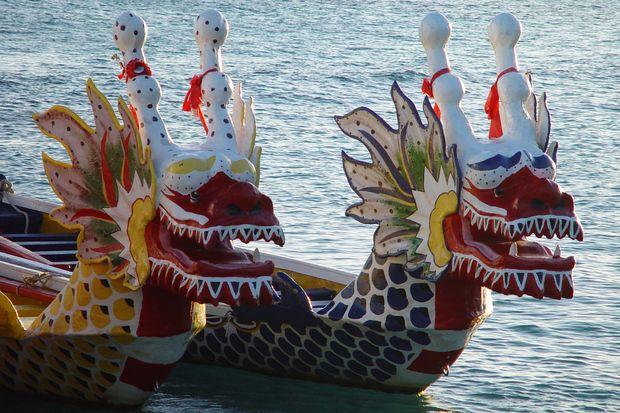 лодки-драконы