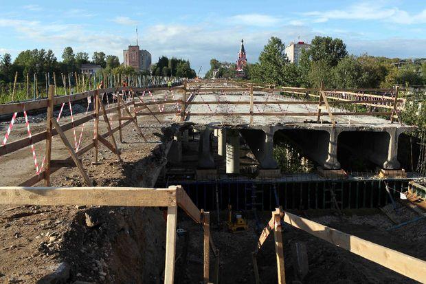ремонт моста ржев-1
