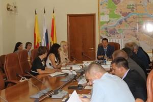 заседание в администрации твери