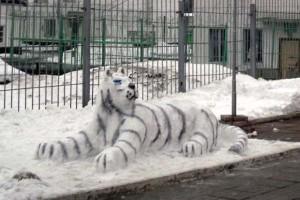 Белый тигр - итог творчества конкурсантов из ЛИУ-3