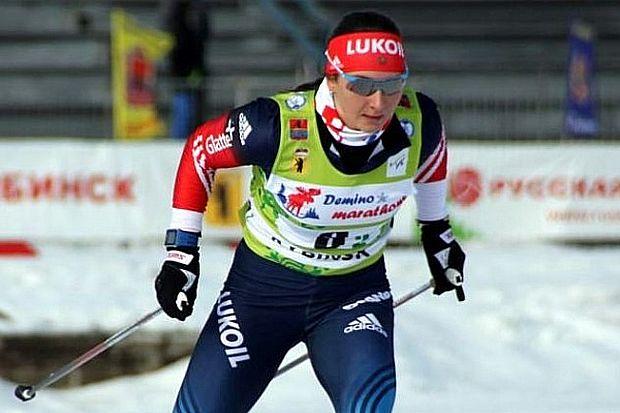 Лыжница Наталья Непряева