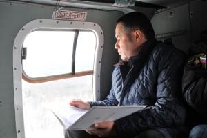 губер в вертолете