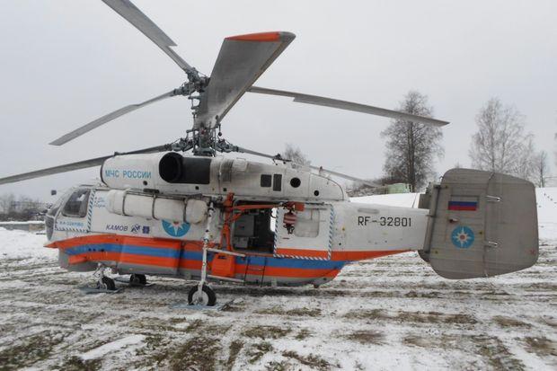 санитарный вертолет