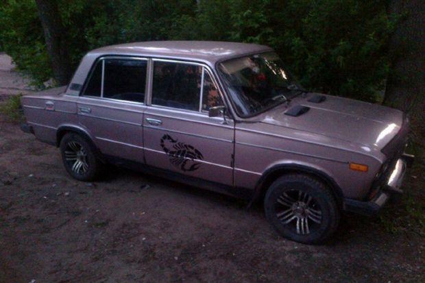 угнанный автомобиль