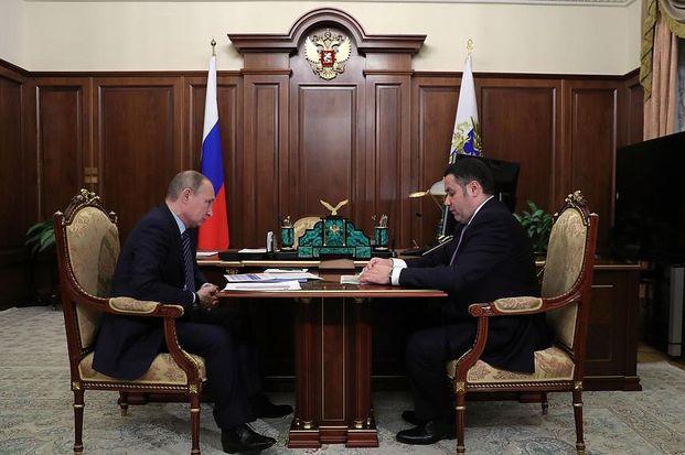 Губернатор Тверской области обозначил позитивные моменты вразвитии региона