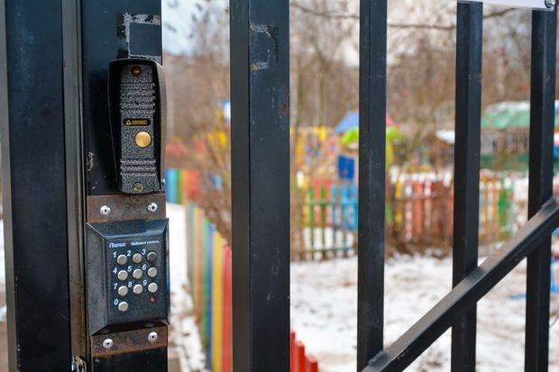 детский сад+домофон