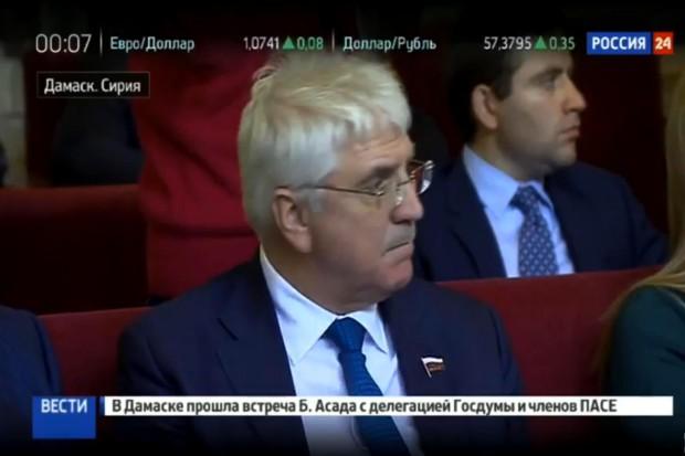 Вгосударстве Украина раскритиковали визит президента ПАСЕ вСирию