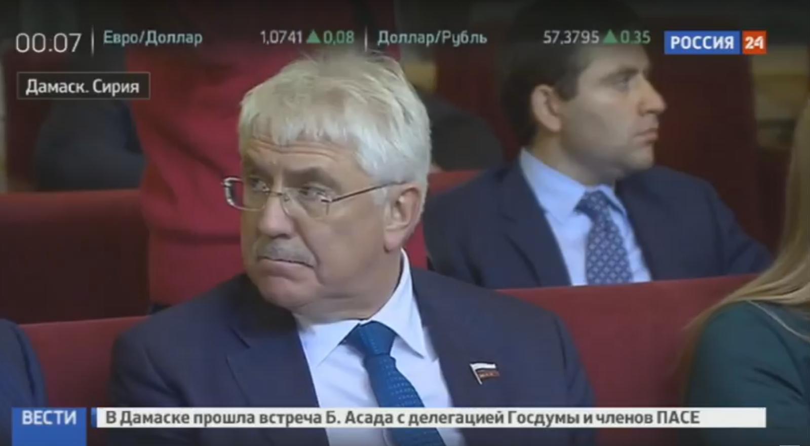 Украина потребует отПАСЕ объяснений остатусе визита Аграмунта вСирию