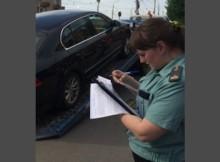 арест машины