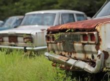 свалка автомобилей
