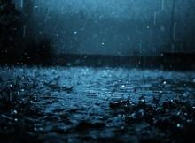 сильный дождь_ночь