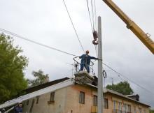замена электропроводов