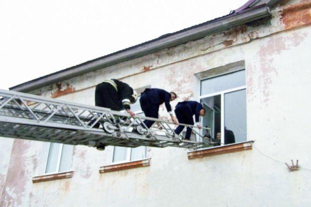 эвакуация гимназии1