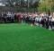 открытие футбольного поля