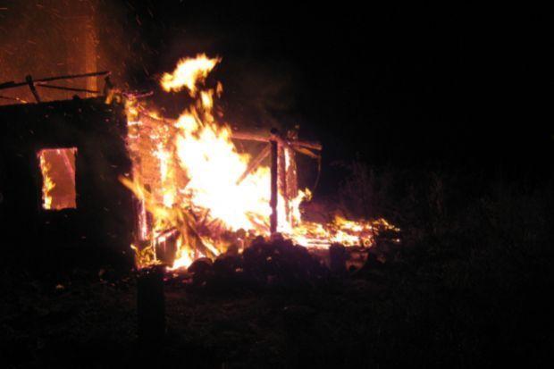 сгорела ферма