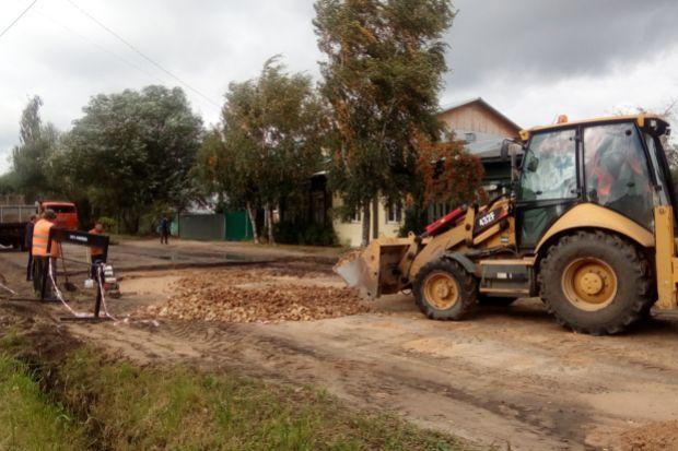 третьяковский-ремонт дороги