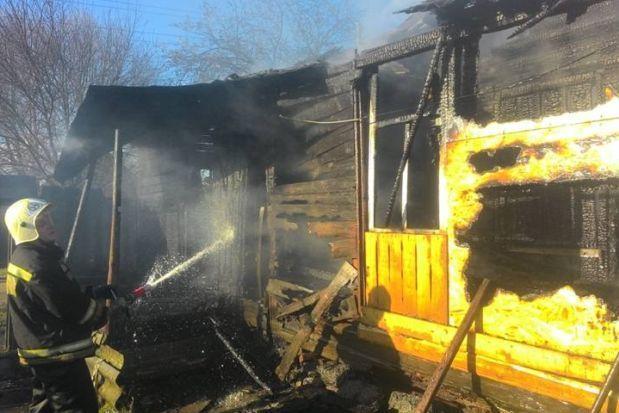 Мужчина умер впожаре вТверской области