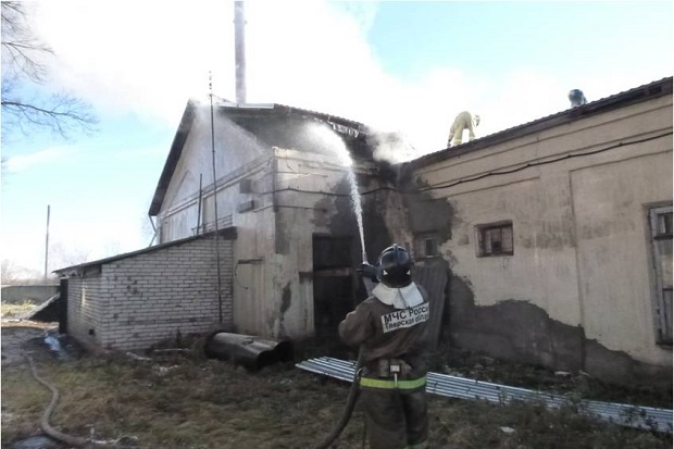 пожар-котельная