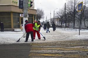 уборка снега-тверь-дворники
