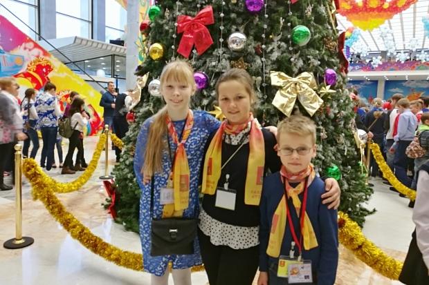Дети изЧР участвуют вКремлёвской новогодней ёлке