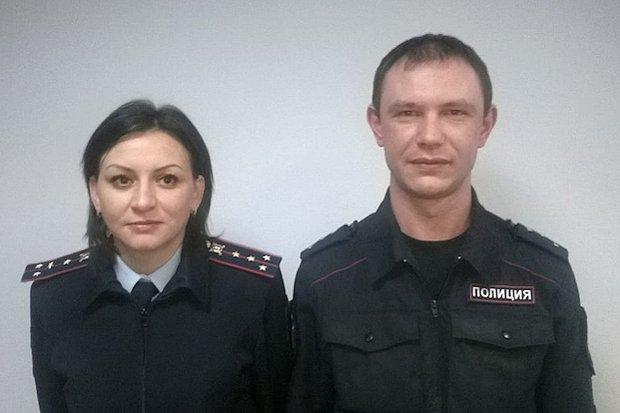 полицейские-герои