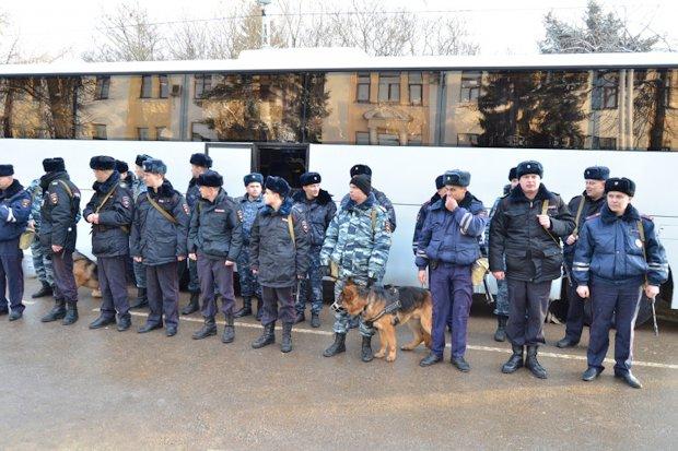 полицейские на кавказ