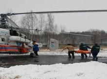 санитарный вертолет мчс