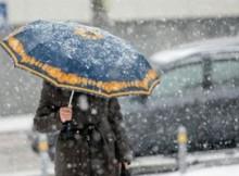 снег-ветер-зонт