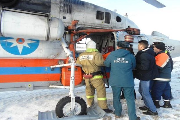 вертолет МЧС-госпитализация