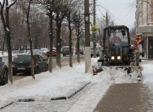 уборка твери от снега