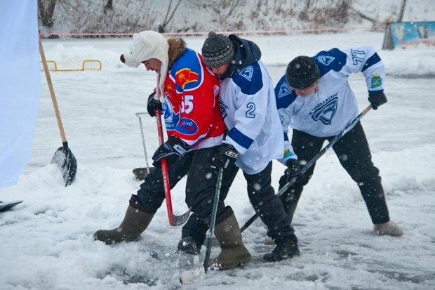 хоккей на волге