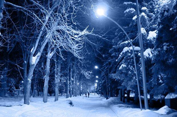 зима_ночь_мороз
