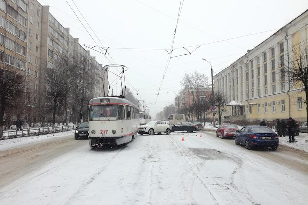 ДТП_трамвай