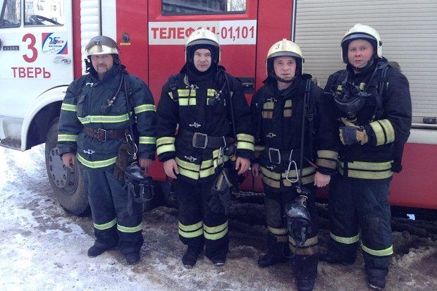 героические пожарные