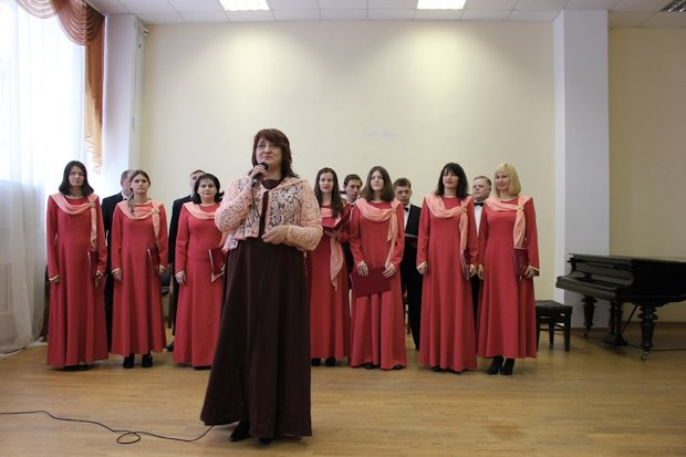 хоровая капелла дк пролетарка