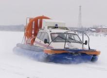 катер ГИМС_зима