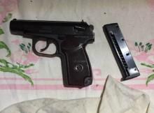 пистолет с патронами-1