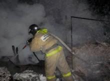 пожар-гараж
