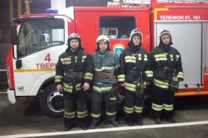бравые пожарные