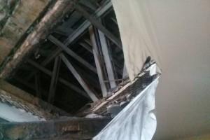обрушение потолка-2