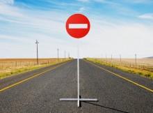 ограничение движения по трассе