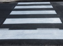 пешеходный переход-дорожная разметка