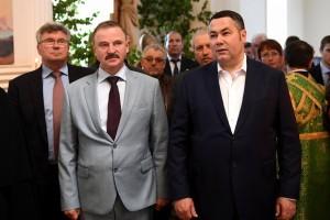 Игорь Руденя и Сергей Веремеенко