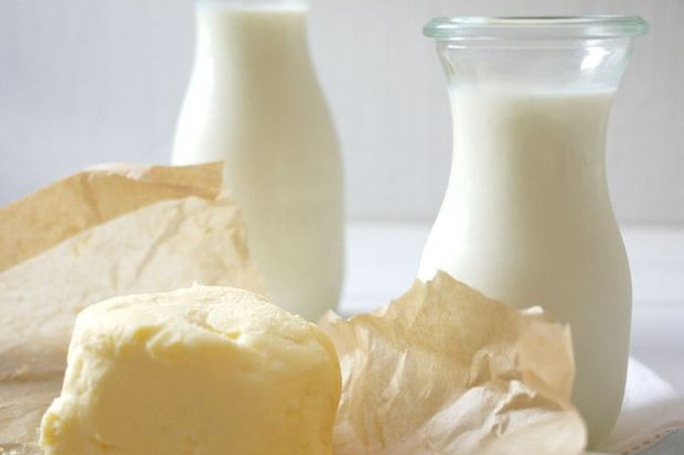 масло и молоко